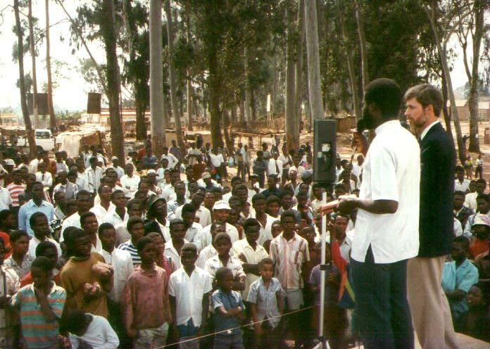 preaching in Malawi